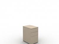 Desk High Mobile Pedestal 2