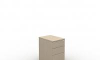 Desk high mobile pedestal manager 2 drawer
