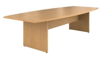 Meeting table, oval or rectangular