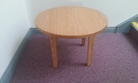 Occasional table, circular