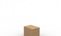 Under desk mobile pedestal manager 1 drawer