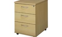 Under desk mobile pedestal manager 3 drawer